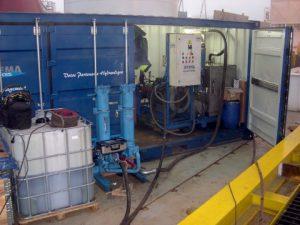 centrale de flushing