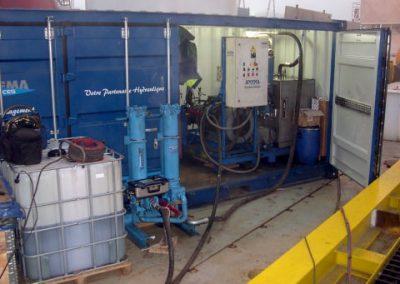 Centrales de flushing