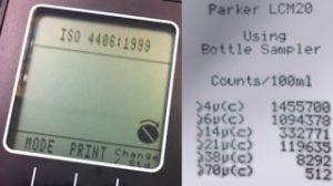 comptage de particules