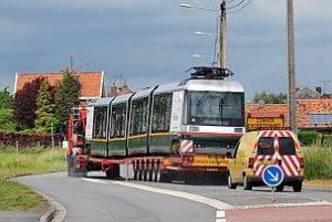 le tramway a pris la route