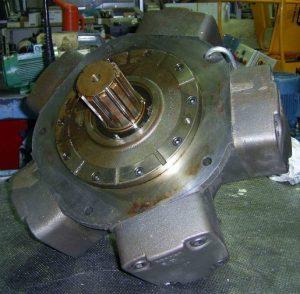 moteur hydraulique Sogema