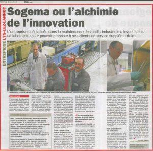 sogema alchimie de l'innovation