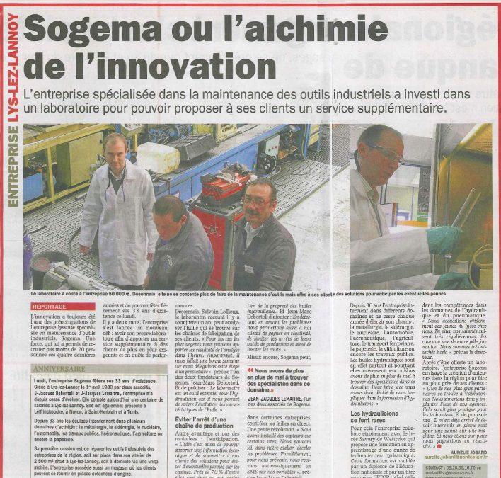 Sogema ou l'alchimie de l'innovation